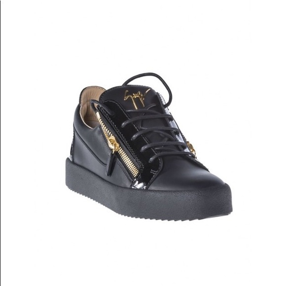 4543f0c3742 Giuseppe Zanotti Shoes | Logoball Leather Suede Sneakers | Poshmark